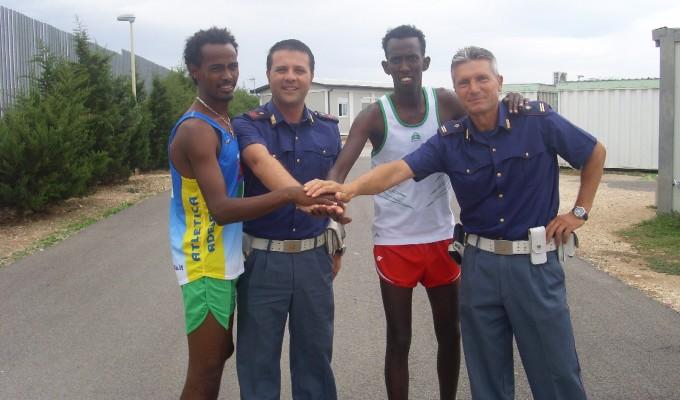 Dai mondiali di atletica al centro per rifugiati, la lunga corsa di Abdul