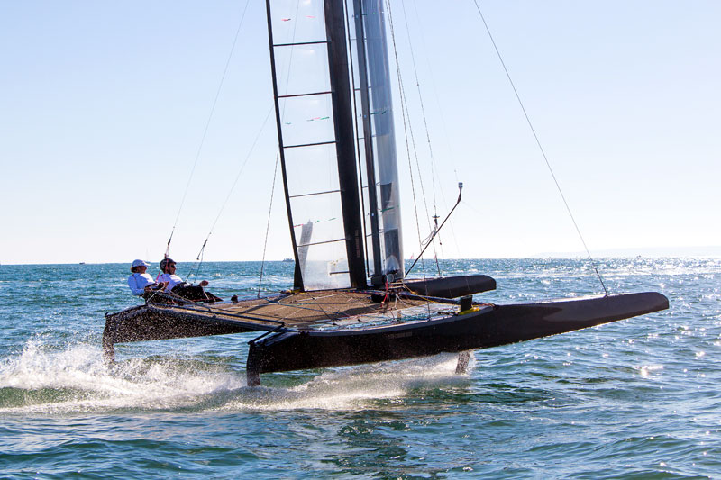 The Foiling Week i sogni volano