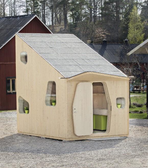 vivere in 10 mq in svezia le mini case universitarie in legno