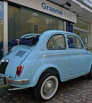 Nel Regno Unito Scoppia La Mania Delle Vecchie Fiat 500 Da
