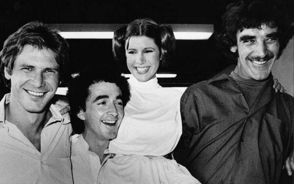 Star Wars, l'album privato di Chewbacca: gli scatti dal set