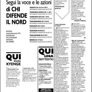 Caso Kyenge, 'La Padania' raddoppia e mette nel mirino anche Zanonato. Vertice tra Salvini e Le Pen