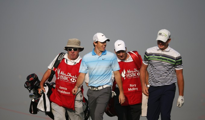 Golf: Bello, Wattel e Baldwin in testa ad Abu Dhabi