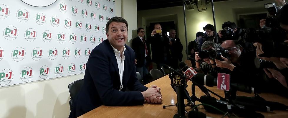 """Legge elettorale, c'è """"profonda sintonia"""" dopo il lungo incontro Renzi-Berlusconi in casa Pd"""