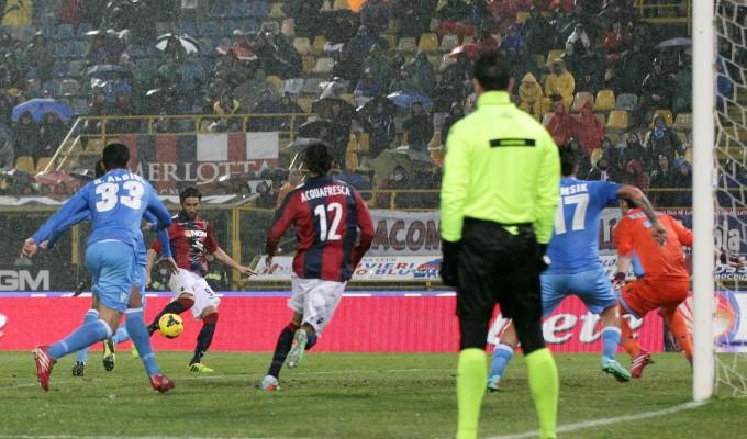 Bologna-Napoli 2-2, Bianchi beffa gli azzurri al 91'