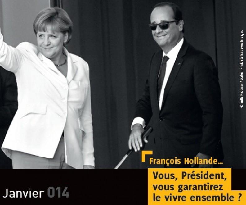 Hollande cieco, il calendario per i diritti dei non vedenti