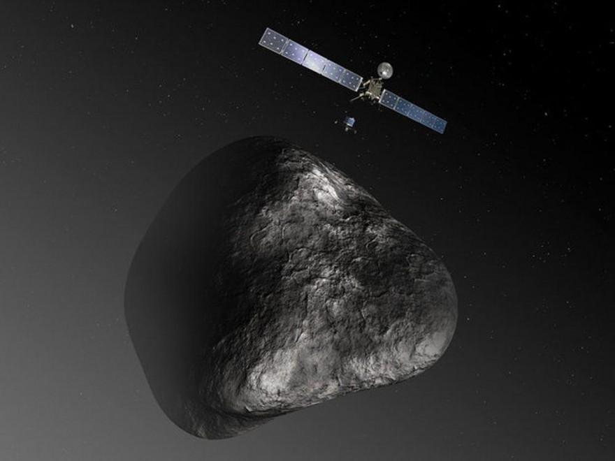 La sonda Esa Rosetta vola verso la cometa Churyumov-Gerasimenko