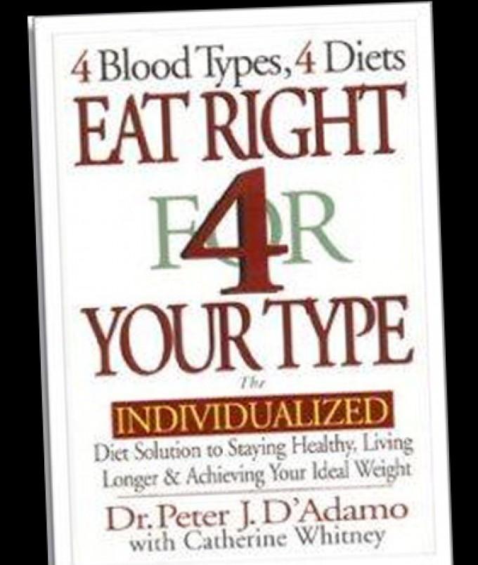 """Bocciata la dieta dei gruppi sanguigni<br />""""Non è scientificamente valida"""""""