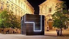 Un cubo fotovoltaico  italiano al summit  delle rinnovabili