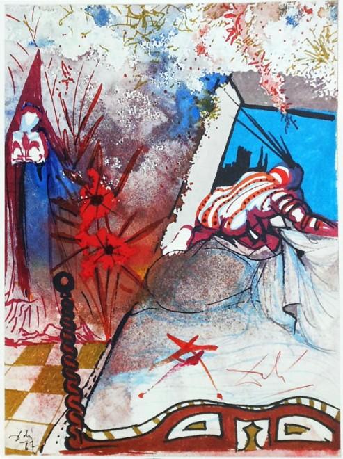 Illustrazioni rare di 'Romeo e Giulietta': da Shakespeare a Dalì