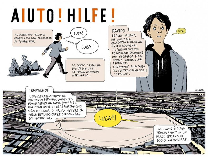 """""""Aiuto! Hilfe!"""", la Berlino a fumetti di Manuele Fior"""