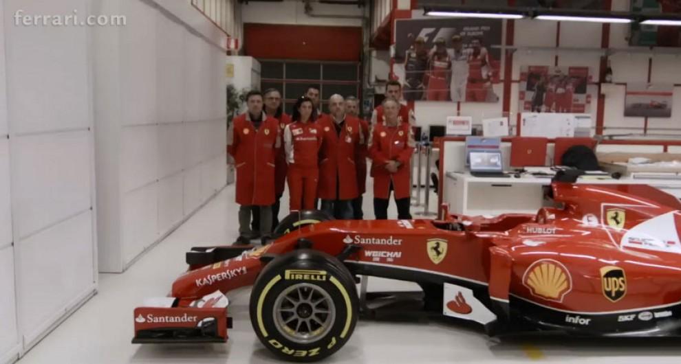 Formula Uno Ecco La Nuova Ferrari F14 T Repubblica It