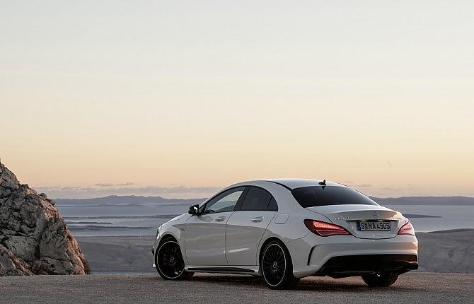 Mercedes Cla 45 Amg Tutto E Il Contrario Di Tutto