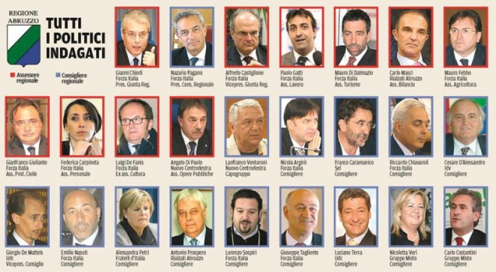parlamentini e 39 spese pazze 39 la mappa delle inchieste
