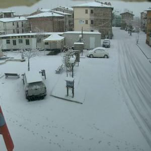 Meteo, è arrivato il freddo artico. Chiusi caselli entrata A24-A25 per neve
