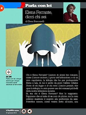 """Elena Ferrante, dicci chi sei<em class=""""author""""><br /></em>"""