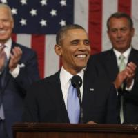 """Obama annuncia """"l'anno della svolta"""" e sfida il Congresso"""