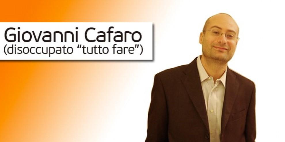 Giovanni Cafaro, il disoccupato che si mette in coda per 10 euro
