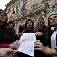 Noi, insultate a Montecitorio