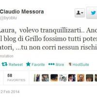 Insulti 5S a Boldrini, Messora rincara la dose su twitter