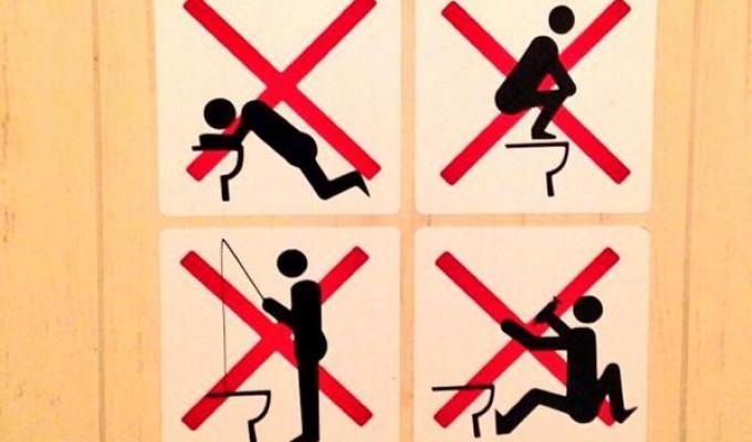 Sochi 2014 la 39 strane 39 regole per chi vuole andare in - Peretta per andare in bagno ...