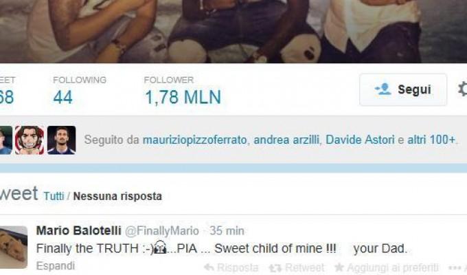 Balotelli riconosce la figlia. Una scelta che farà felice Prandelli