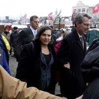 Victoria Nuland in Ucraina dopo la gaffe sulla Ue