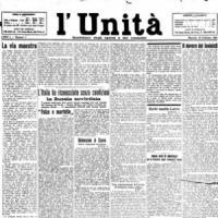 L'Unità: c'era una volta