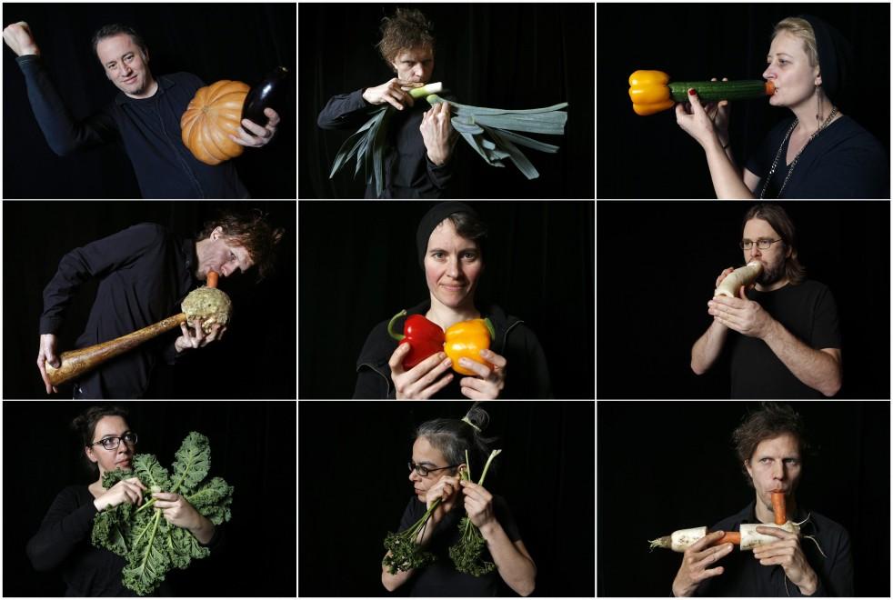 Concerto per zucche e carote: la Vegetable Orchestra di Vienna