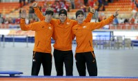 Tris olandese nei 5.000 metri  Oro e record per Kramer
