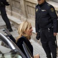 L'Infanta Cristina in tribunale
