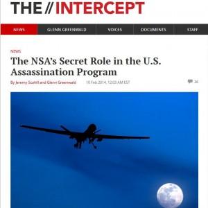 E' online The Intercept, il giornalismo d'inchiesta nato con Snowden