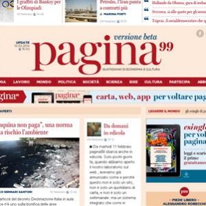 Nasce pagina 99, un nuovo quotidiano fra inchieste, economia e cultura