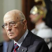 """Napolitano: """"Il complotto? Solo fumo. Monti una risorsaQuella maggioranza era logorata"""""""