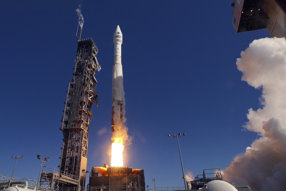 Atlas V Launch Video Today