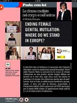 Le donne mutilate nel corpo e nell'anima