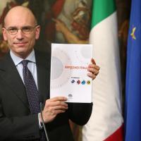 Letta non si dimette, presenta ''Impegno Italia''