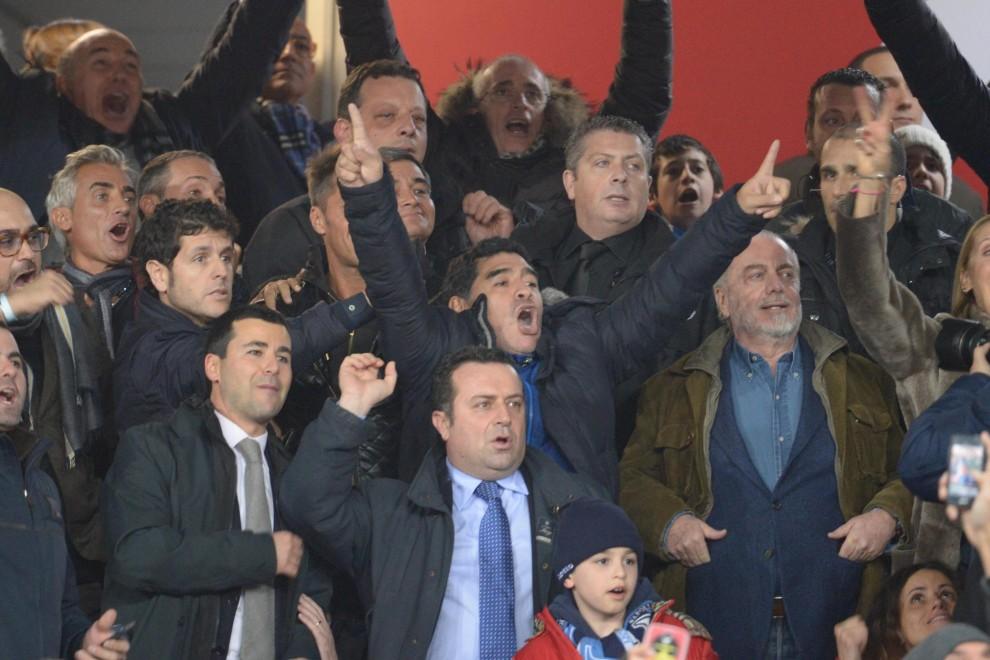 Napoli-Roma, il ritorno di Maradona al San Paolo