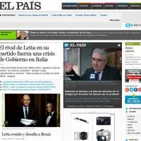 La crisi di governo sulle pagine dei siti esteri