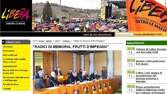 Libera, il 22 marzo a Latina la Giornata contro la mafia. E ci si può arrivare anche in bici