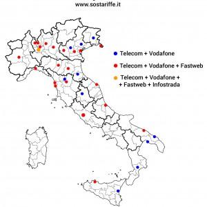 La Banda ultra larga è per pochi: il 15% degli italiani, nei quartieri migliori dei capoluoghi