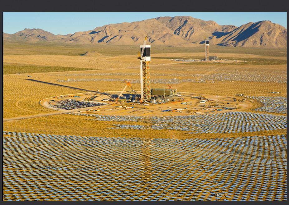 California, il più grande impianto solare al mondo