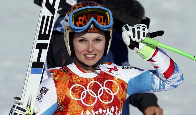 Sochi, super-g alla Fenninger. L'Italia non fa miracoli