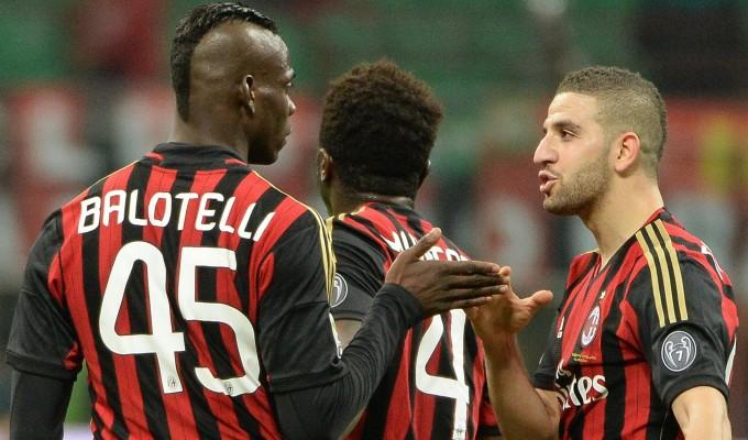 Milan, l'appello di Balotelli. Con Pazzini per battere l'Atletico
