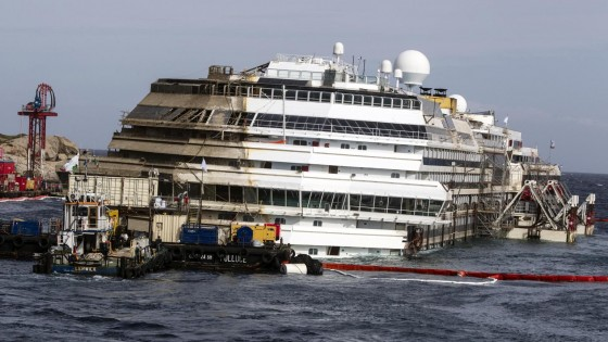 Costa Concordia, lo smaltimento sarà in Italia. Un affare da 600 milioni