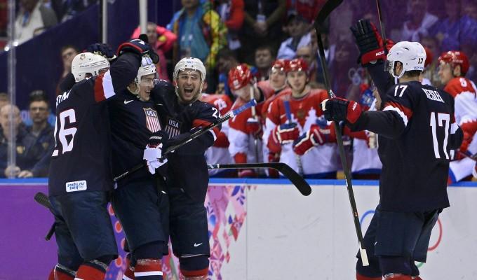 Sochi 2014, hockey: gli Stati Uniti gelano la Russia ai rigori sotto gli occhi di Putin
