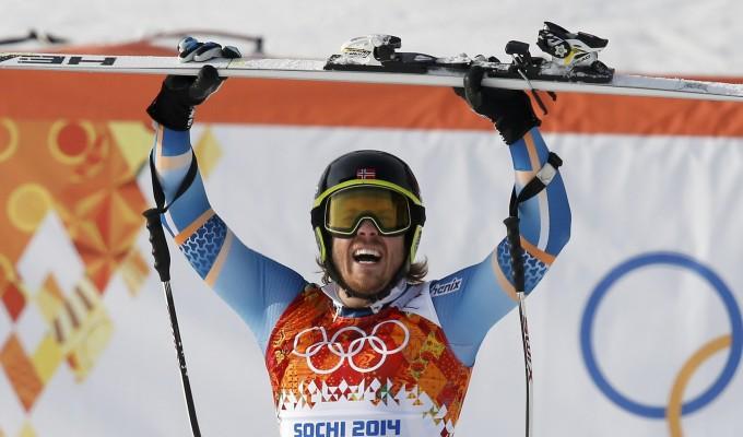 Sochi 2014, il super-G è ancora norvegese. Trionfa Jansrud, male gli italiani