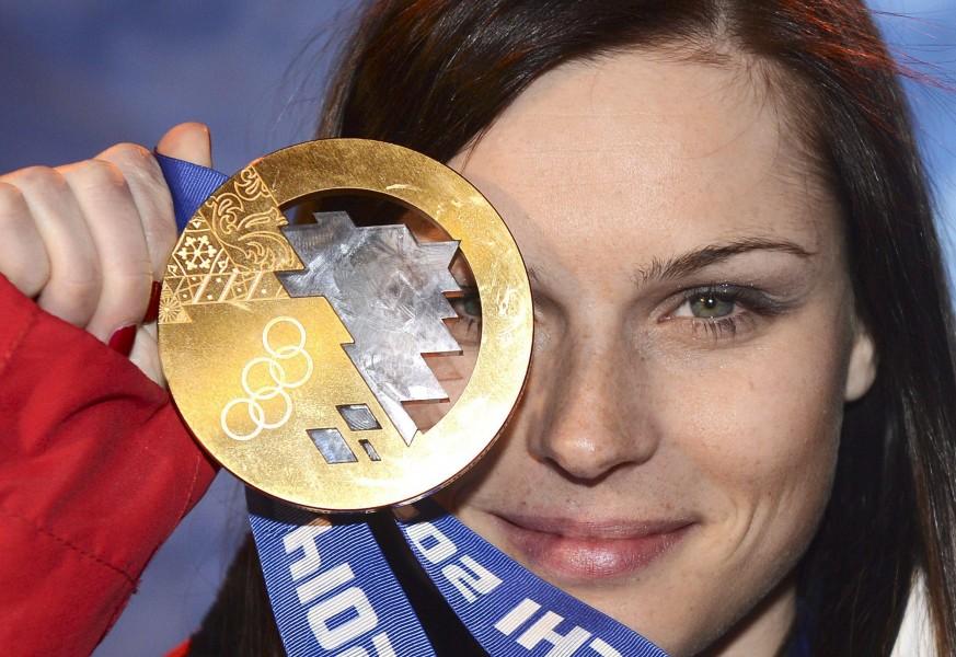 Super G, alla corte di Anna: oro e bellezza sul podio