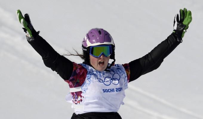 Sochi 2014, snowboard: sfortuna Moioli, cade in finale e si rompe i legamenti