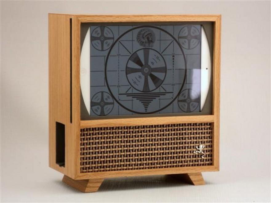 Il case nostalgico l 39 ipad diventa tv anni 39 50 - Case anni 50 ...